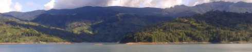 Embalse del Guavio, Cundinamarca